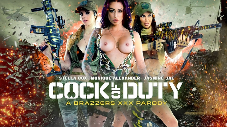 Monique Alexander, Jasmine Jae, Stella Cox - Cock of Duty