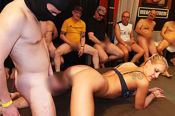 deutsche gang bang porno